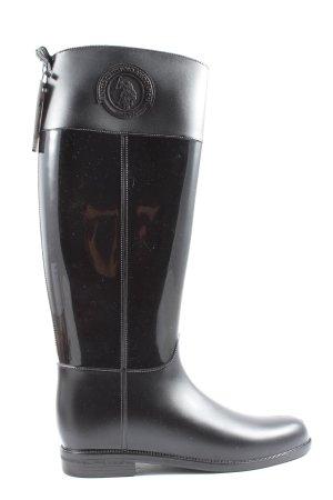 U.s. polo assn. Gummistiefel schwarz Casual-Look