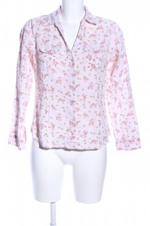 U.s. polo assn. Blouse met lange mouwen roze-groen bloemenprint