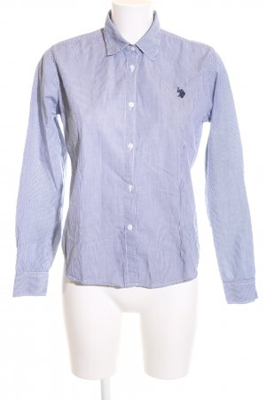 U.s. polo assn. Langarmhemd blau-weiß Streifenmuster Business-Look