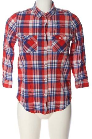 U.s. polo assn. Camicia a maniche lunghe motivo a quadri stile casual