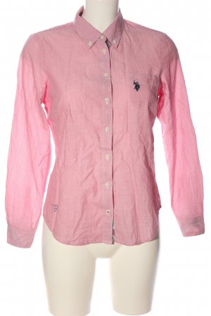 U.s. polo assn. Langarmhemd pink Webmuster Business-Look
