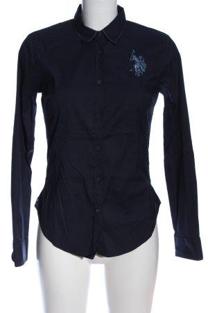 U.s. polo assn. Camicia a maniche lunghe blu stile casual
