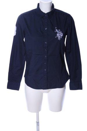 U.s. polo assn. Langarmhemd blau Casual-Look