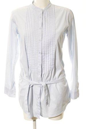U.s. polo assn. Camicia a maniche lunghe grigio chiaro stile casual