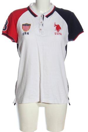 U.s. polo assn. Polo-Shirt Schriftzug gedruckt Casual-Look