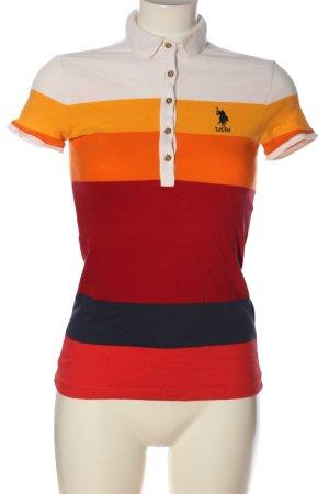 U.s. polo assn. Polo-Shirt Streifenmuster Casual-Look