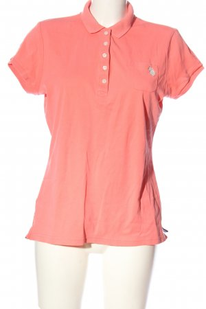U.s. polo assn. Polo-Shirt pink Casual-Look