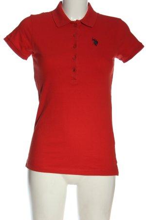 U.s. polo assn. Polo-Shirt rot Casual-Look