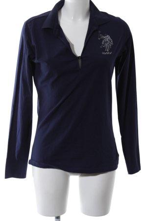 U.s. polo assn. Polo shirt blauw casual uitstraling