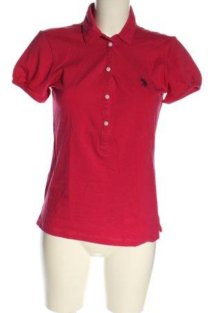 U.s. polo assn. Polo rosso stile casual