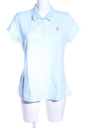U.s. polo assn. Polo blu Stampa a tema stile casual