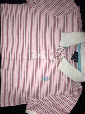 U.s. polo assn. Polo rosa-bianco Cotone