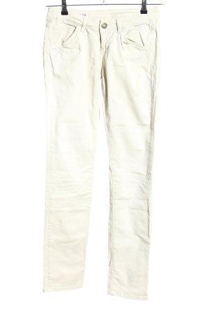 U.s. polo assn. Jeans a sigaretta bianco sporco stile casual