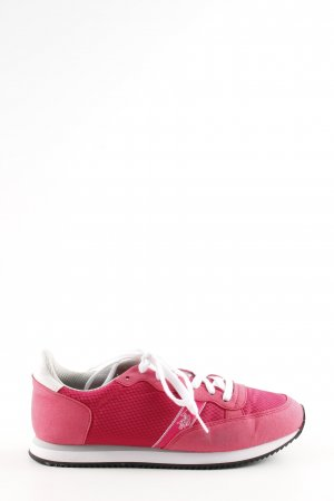 U.s. polo assn. Schnürsneaker pink Casual-Look