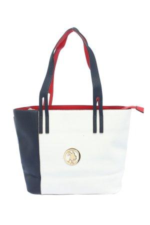 U.s. polo assn. Comprador blanco-azul look casual