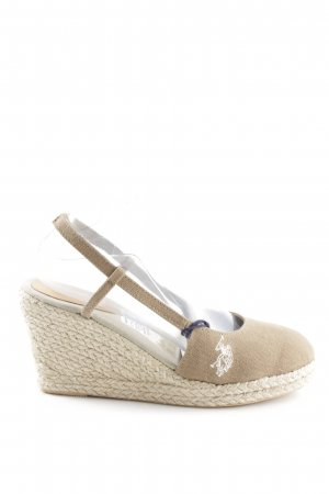 U.s. polo assn. Slingback Pumps natural white casual look