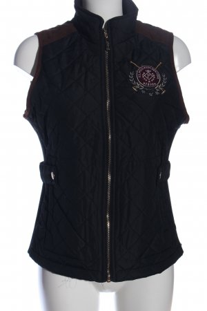 U.s. polo assn. Quilted Gilet blue quilting pattern casual look