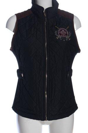 U.s. polo assn. Pikowana kamizelka niebieski Pikowany wzór W stylu casual