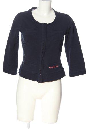 U.s. polo assn. Giacca in maglia blu-rosa Stampa a tema stile casual