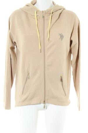 U.s. polo assn. Sweatshirt creme sportlicher Stil