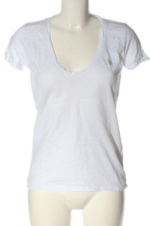 U.s. polo assn. T-Shirt weiß Casual-Look