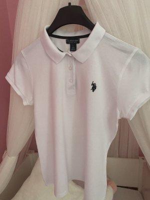 Us Polo ASSN Camiseta tipo polo blanco