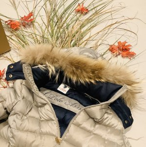 ❤️ U.S. Polo Daunenmantel Daunen Mantel Jacke XS S 34 36 Echtfell