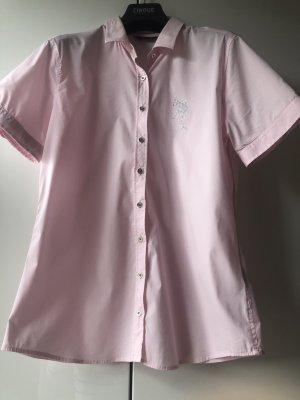 U.s. polo assn. Camicetta a maniche corte rosa chiaro