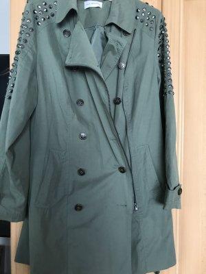 Amy Vermont Between-Seasons-Coat khaki
