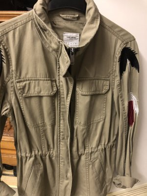Vero Moda Veste militaire beige-gris brun