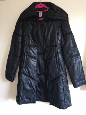 Fashion in Love Quilted Coat black
