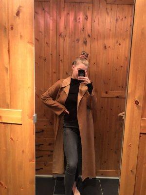 Zara Floor-Lenght Coat brown