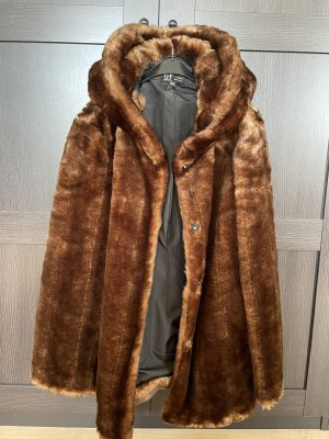 Zara Pelt Jacket bronze-colored