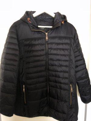Bexleys Between-Seasons Jacket dark blue-red