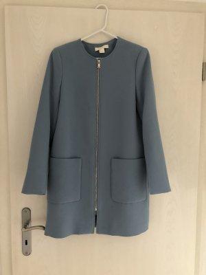 H&M Blazer long bleu azur