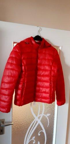 PALABLU Pikowana kurtka czerwony