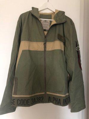 Alpha Industries Veste mi-saison gris vert-beige