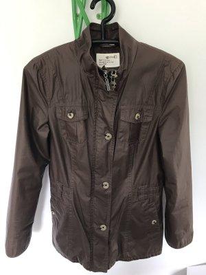 Street One Between-Seasons Jacket bronze-colored mixture fibre