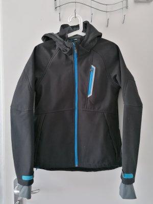 H&M Between-Seasons Jacket black-blue