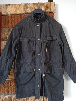 Übergangsjacke aus Jeansstoff