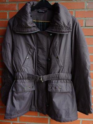 Übergangsjacke Jacke dunkelbraun viele Details Gr. 40 / 42 von concept neuwertig!