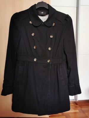 Übergangsjacke/-mantel schwarz Gr. 40