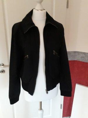 Marco Polo Blusón negro tejido mezclado