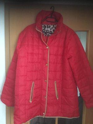 Janina Capuchon jas rood