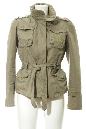 Übergangsjacke olivgrün-khaki Military-Look