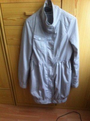 Übergangsjacke only grau mit extrem bequemen Taschen