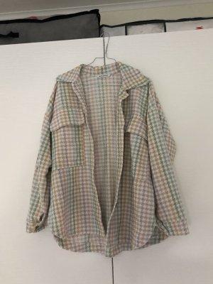 Übergangsjacke, oversized Hemd