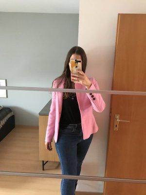 Übergangsjacke rosa aus Schur-Wolle