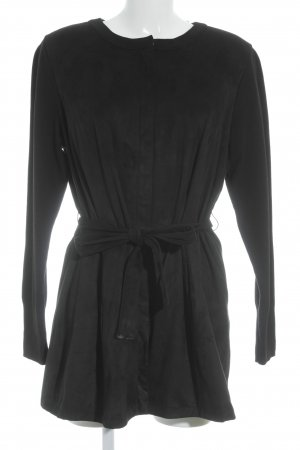 Übergangsjacke schwarz Street-Fashion-Look
