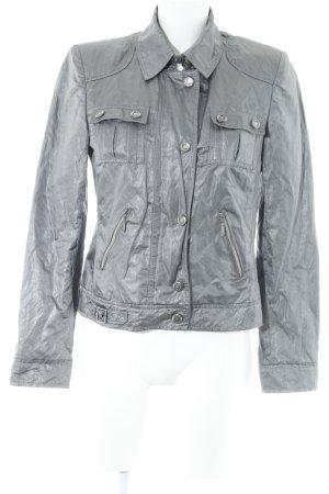 Übergangsjacke silberfarben-grau Casual-Look